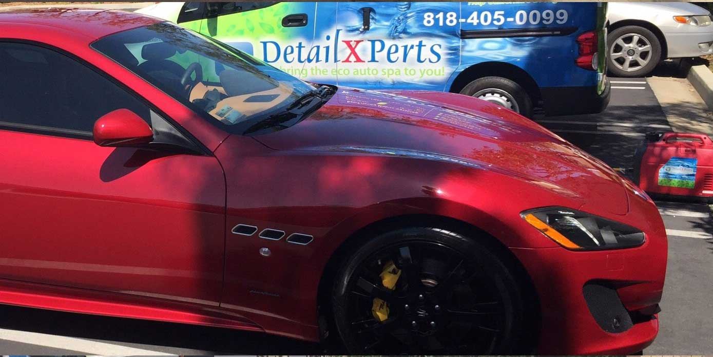 Auto Detailing with Steam