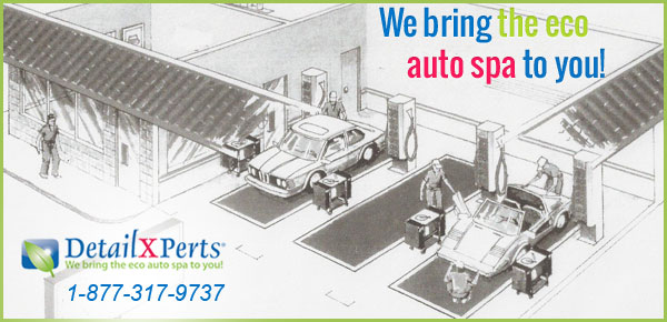 Franchise Business Model - DetailXPerts Free standing Auto Detail Shop