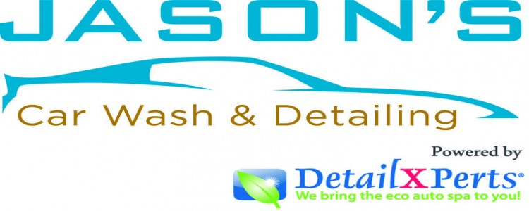 Jason's Car Wash Powered by DetailXPerts Logo