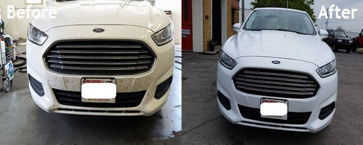 Before and After_Car Steam Cleaning
