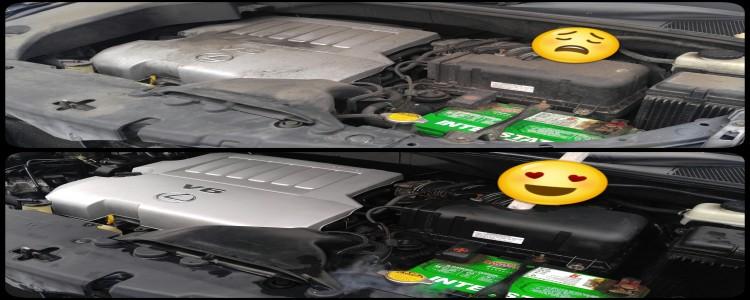 Happy Engine Bay on This Lexus!