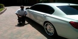 Serving Ryan Howard's BMW