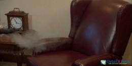 Chair Steam Cleaning and Sanitization