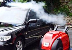 Have your car detailed by using steam cleaning methods