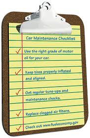Better Car Maintenance Checklist