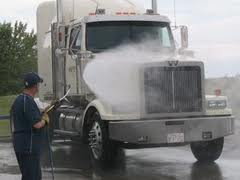 Interior Cleaning for Semi Trucks
