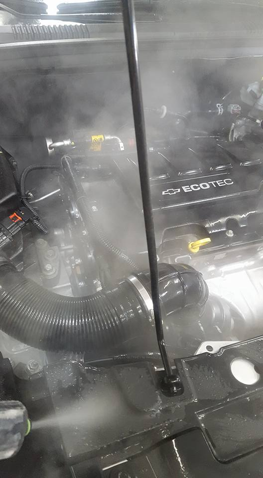 How to Perform Engine Steam Cleaning?
