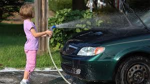 Home wash vs Car wash