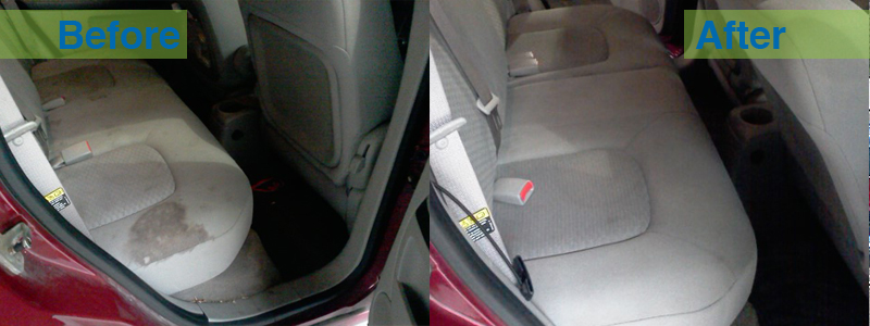 How to Clean Car Seat Stains?
