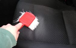 deep cleaning car seats
