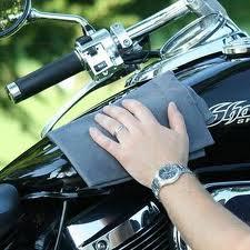 Motorcycle Wipe Down