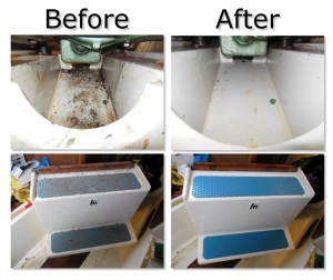 Boat Maintenance - How to Clean a Greasy Boat Bilge
