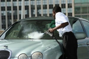 Car Detailing: Exterior Steam Cleaning