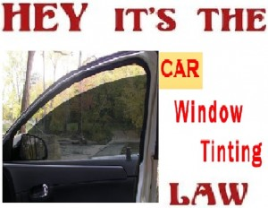 Laws governing window tint