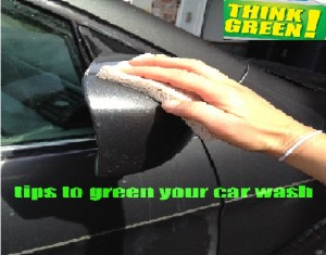 Greening home car wash