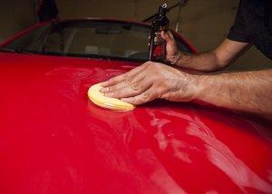 Car wash drying agent