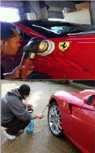 Detailing affluent cars
