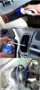 Ways to clean your car AC