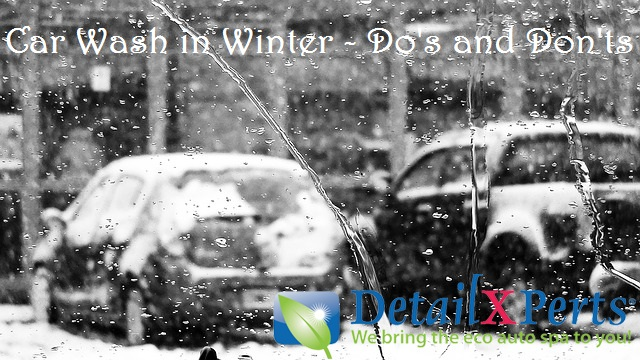 Car Wash in Winter - Do's and Don'ts