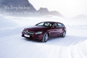 We Bring the Auto Spa to You in Winter, too!