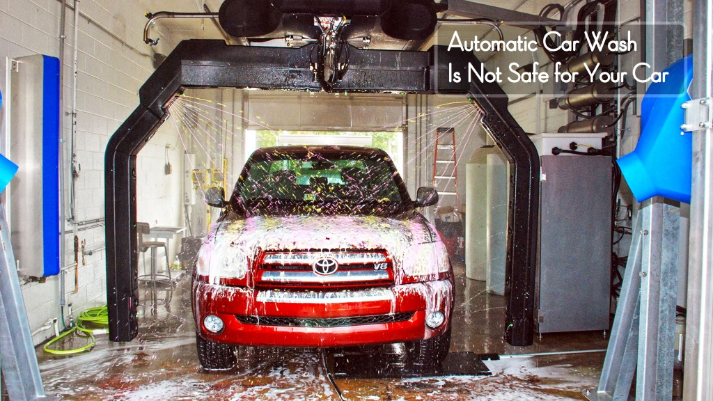 Automatic Car Wash After Paint Job