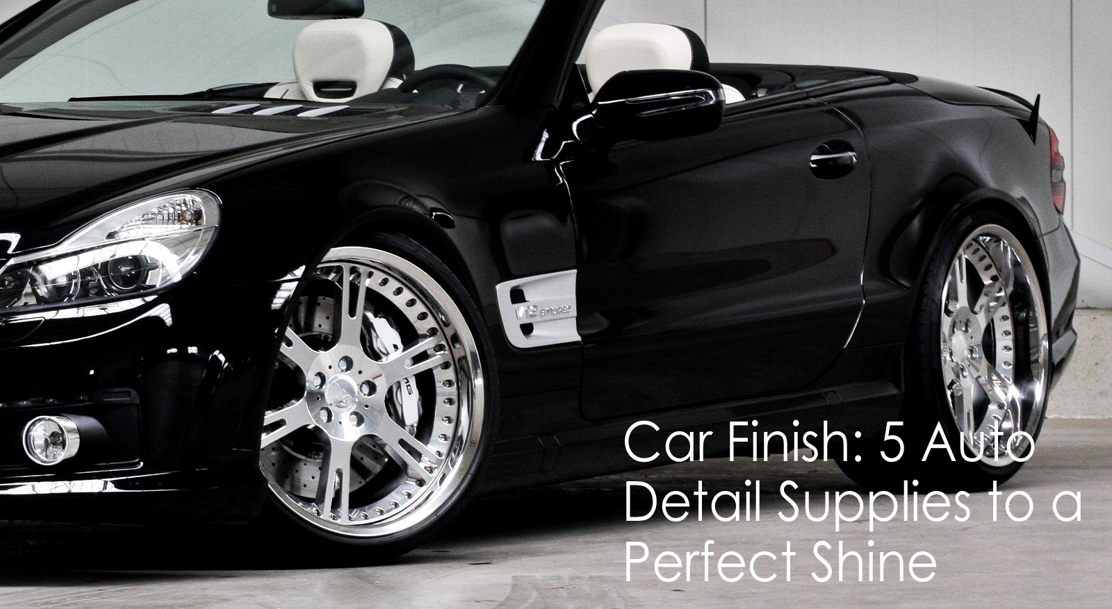 car finish 5 auto detail supplies to a perfect shine. Black Bedroom Furniture Sets. Home Design Ideas