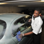 Steam Clean Your Car Exterior - Door