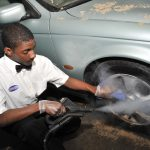 Steam Clean Your Car Exterior - Wheel