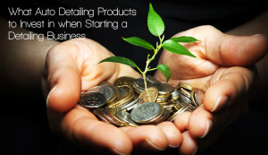Investing in auto detailing products