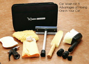Benefit of putting a car wash kit in your car