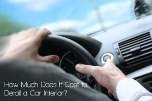 knowing the cost of detailing car interior