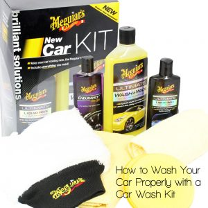Selecting a car wash kit