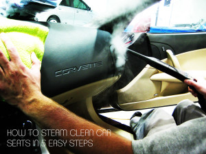 how to steam clean car seats in 5 easy steps. Black Bedroom Furniture Sets. Home Design Ideas