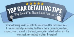 car detailing tips why should you steam clean your car infographics detailxperts we bring. Black Bedroom Furniture Sets. Home Design Ideas