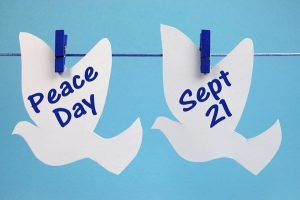 "World Peace Day 2015: ""Partnerships for Peace - Dignity for All"""