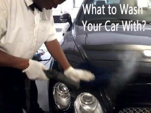 What to Wash Your Car With
