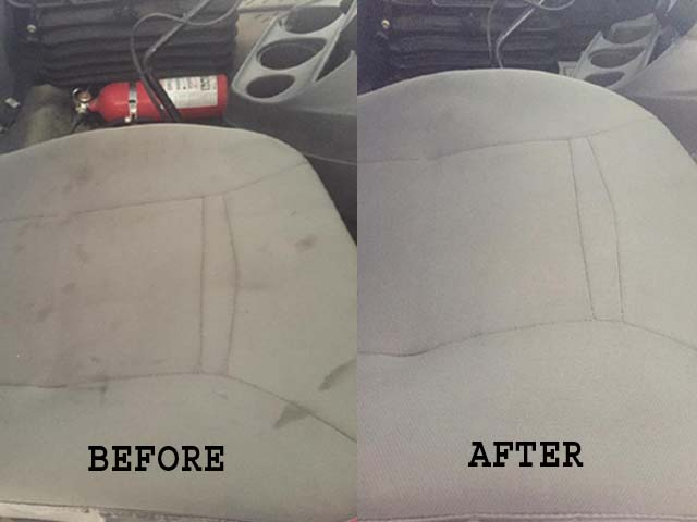 how to remove oil stains from car seats detailxperts. Black Bedroom Furniture Sets. Home Design Ideas