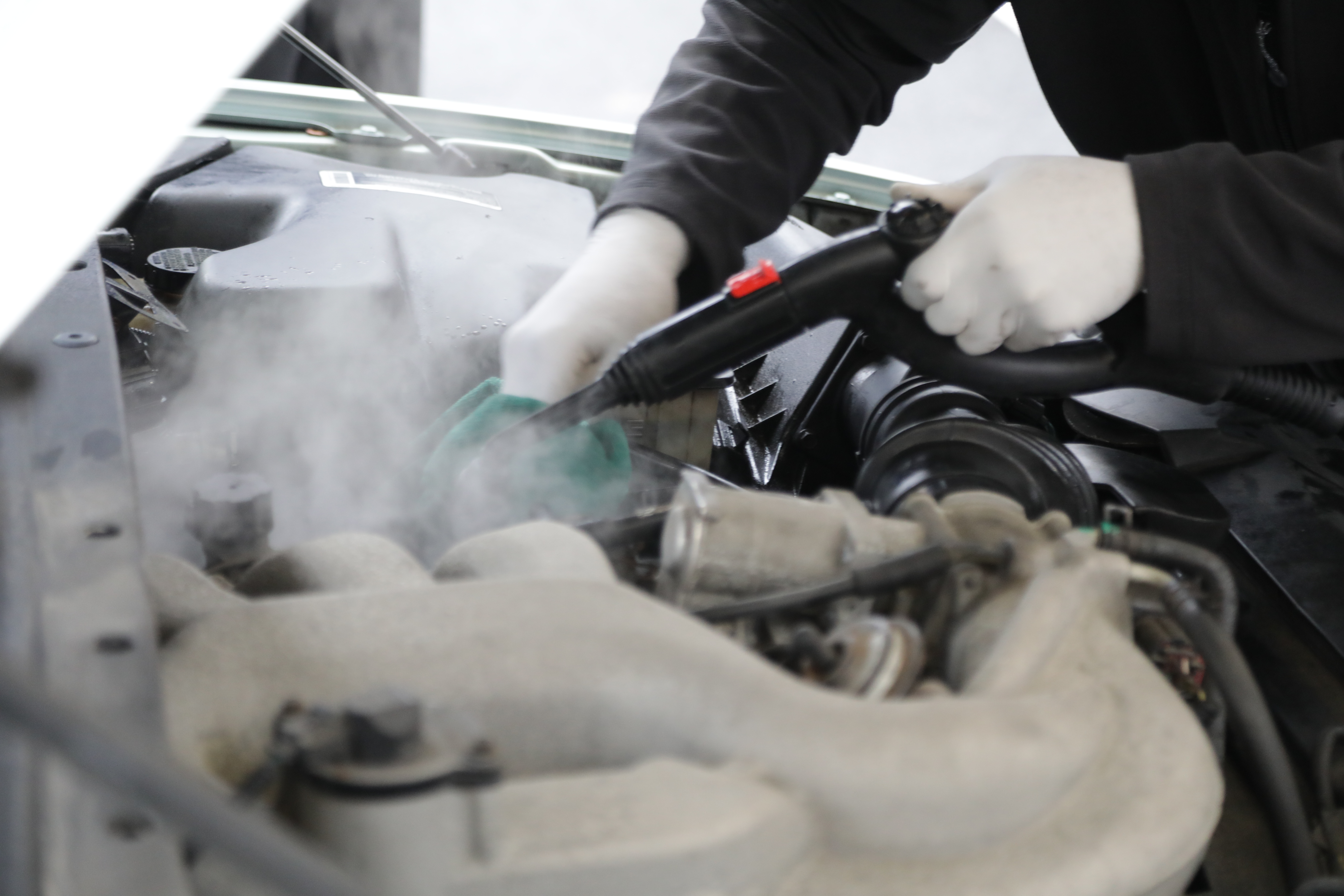 How to Steam Clean The Engine Bay [Photo Guide]