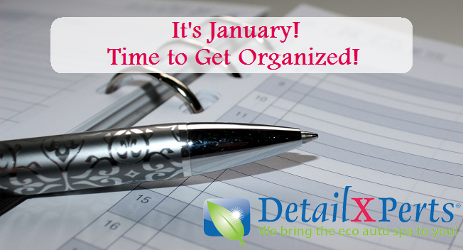DetailXPerts National Get Organized Month