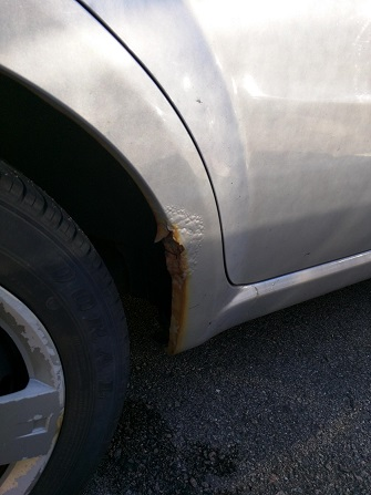 How to Repair Rust Spots