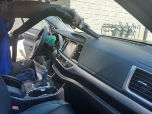 Vacuum the Dashboard