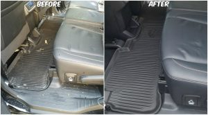 Vacuuming a Car the Right Way - Before and After by DetailXPerts