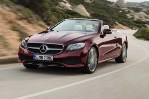 Most Wanted Convertible Car Models in America - Mercedes Benz E-Class