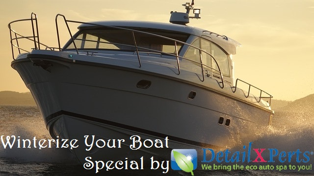 Winterize Your Boat Special by DetailXPerts