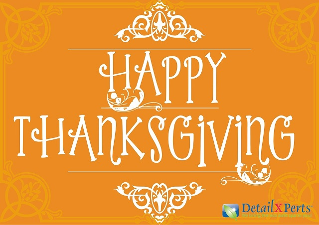 Happy Thanksgiving with DetailXPerts