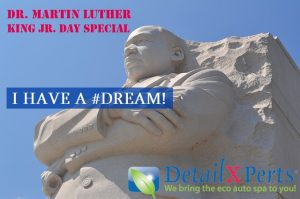 Dr. Martin Luther King Jr. Day Monthly Special by DetailXPerts