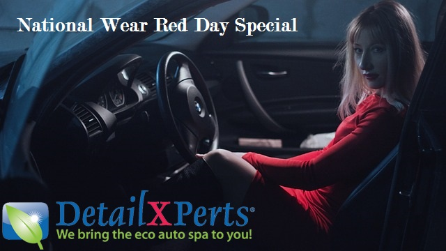 National Wear Red Day Special by DetailXPerts