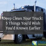 Deep Clean Your Truck
