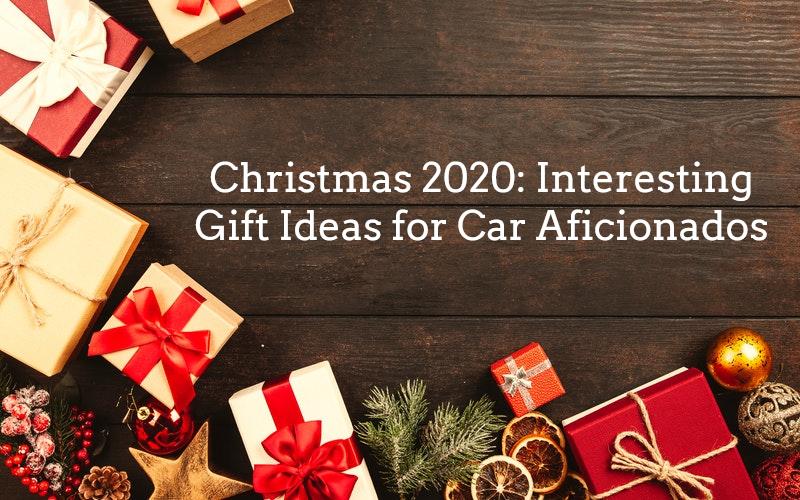 Christmas 2020: Interesting Gift Ideas for Car Aficionados