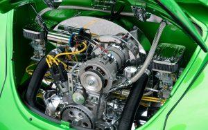 Model Car Engine Detailing